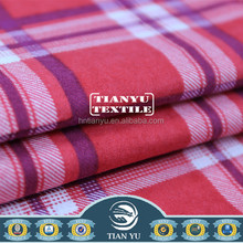 Alibaba TOP 10 Fabric Flannel Textile Safety and Soft Finishing Men's Shirt Fabric