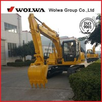 Mini backhoe excavator small hydraulic excavator 13000kg DLS130-9