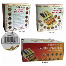 Stock Solid Wood Game House