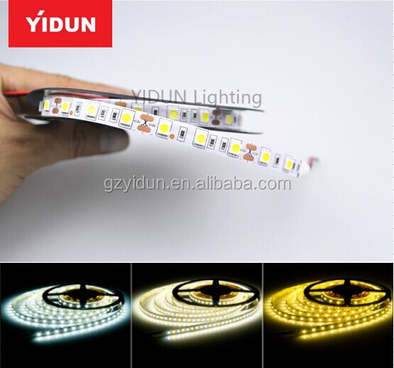 Yidun Lighting aluminum profile led strip light DC12V 23W 96leds/m led pure white strip for office strip light