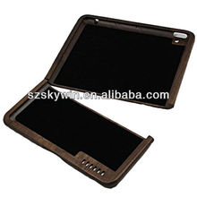 Hot Sale Wood Handcrafted Cover Stand Bracket wooden Case Cover For ipad 3