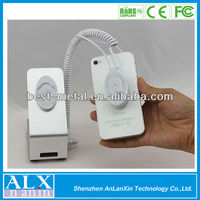 Hot Security Cellphone /mobile Phone Display Holder /stand With Charging And Alarm