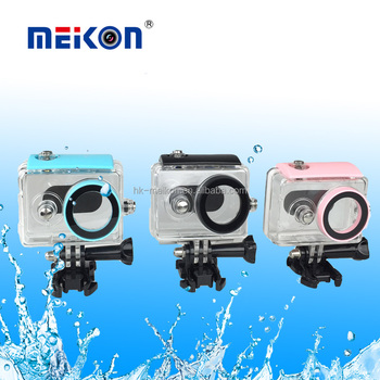 2016 Diving Underwater camera waterproof case for Xiaomi Yi Action Sport Camera Xiaoyi Smart Camera