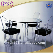 art deco dining room furniture , lucite side tables