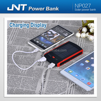 Solar Power Bank 6000mAh / solar charger / portable power bank for smart phone