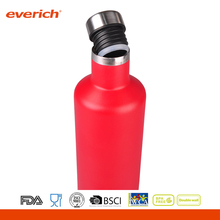 Everich double wall stainless steel BPA free small mouth easy carrying vacuum bottle