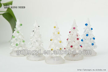 Mini christmas decoration tree with led& Xams gift