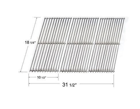54453 (Set of 3) Replacement Stainless Steel Cooking Grid for Gas Grill Models