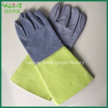 Welding protective split cuff safety glove