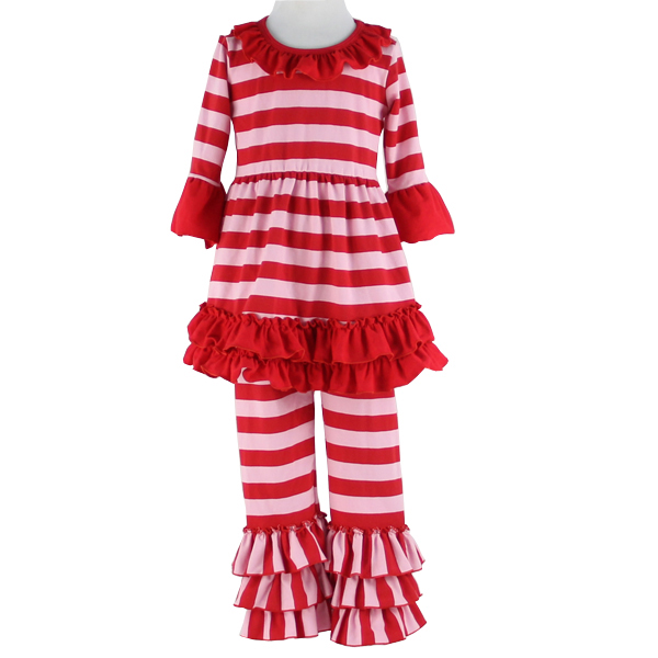 2017kaiyo top design new fancy frock designs images sew sassy boutique stripe sets wholesale children's boutique clothing