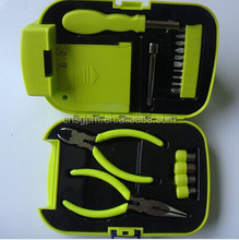 18pcs Emergency hand tools set/kit with LED flashlight torch