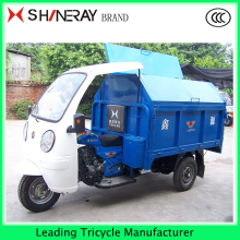 Chinese Three Wheel Covered Garbage Motorcycle Scooter150cc200cc250cc