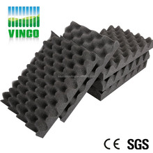 High Quality Egg Crate Foam-liner Crush-proof Hard Acoustic Treatment Case