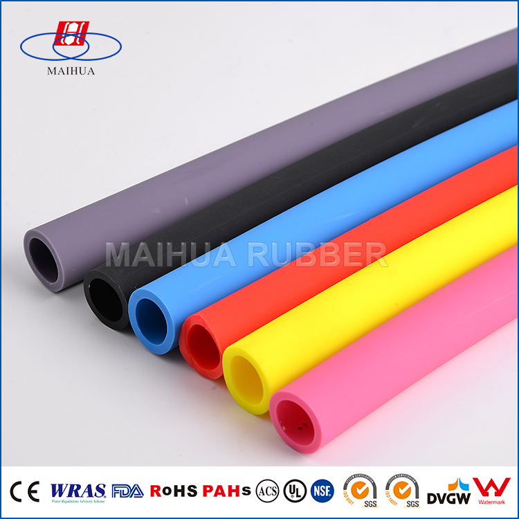 OEM small diameter colored silicone flexible rubber hydraulic hose