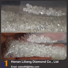 Henan largest synthetic diamond base HPHT CVD certified gem white loose uncut diamond one carat price factory price