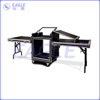 high quality flight case table for stage for lighting