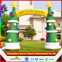 Factory lower price Advertising Christmas Inflatable Arch cheap on sale