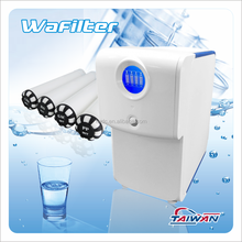 Residential Reverse Osmosis Water Purification System with Quick Change Water Filter Cartridges for RO Water Purifier