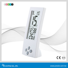 Digital See-Through LCD Display 24 Hours Kitchen Cooking Countdown Timer Alarm Clock With Thermometer