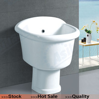 AS-103 Ceramic Sanitary Ware Floor Mounted Mop Basin, Mop Sink