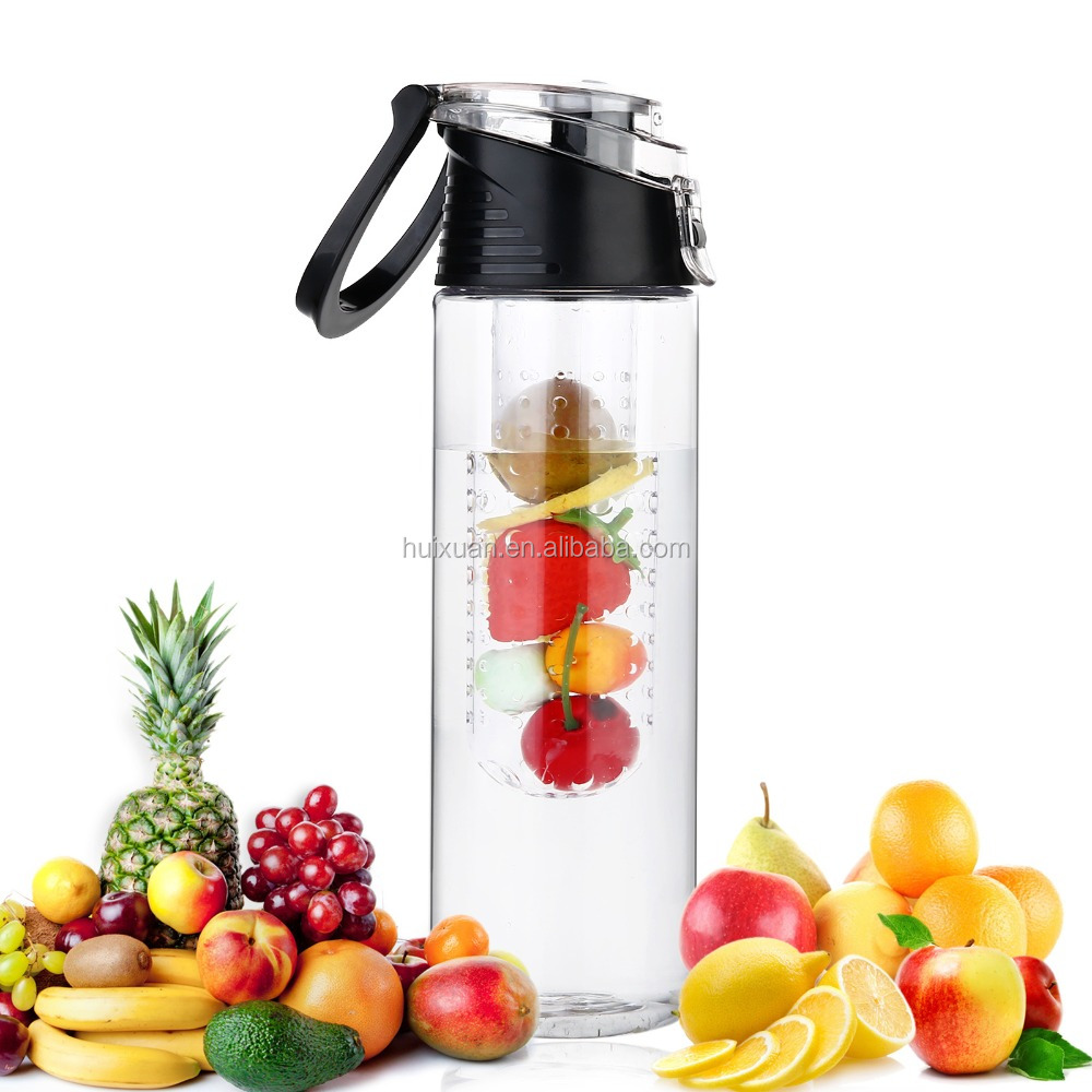 Summer sale bpa free <strong>eco</strong> friendly FDA approved plastic tritan water infuser bottle