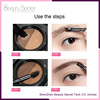 long lasting waterproof double color shading customization air cushion eyebrow cream OEM