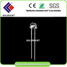Wholesale 5mm pure white strawhat led diode LED through hole dip led