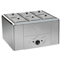 BN-K02 Commercial 6 Pan Soup Warmer Bain Marie