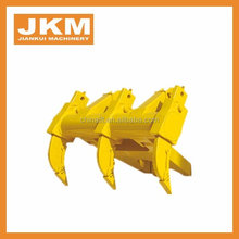 Bulldozer Three Shank Ripper 175-78-21615 D65 D85 ripper for dozer forging& casting heat treated 8E8412