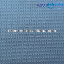 Embossed Honeycomb Pattern PU Shoe Leather