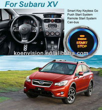 Passive Keyless Entry GPS Canbus Car Alarm For Subaru XV