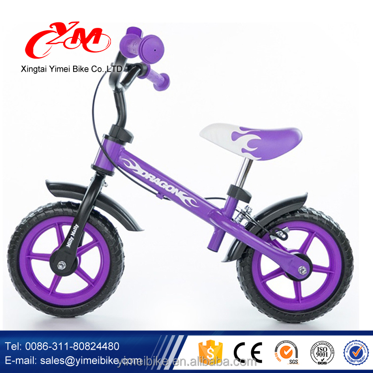 bike with caster wheels , balance bike with 2 wide wheels,mother and child balance bike