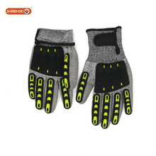 SHINEHOO Waterproof Oil Resistant Mechanical Working Gloves