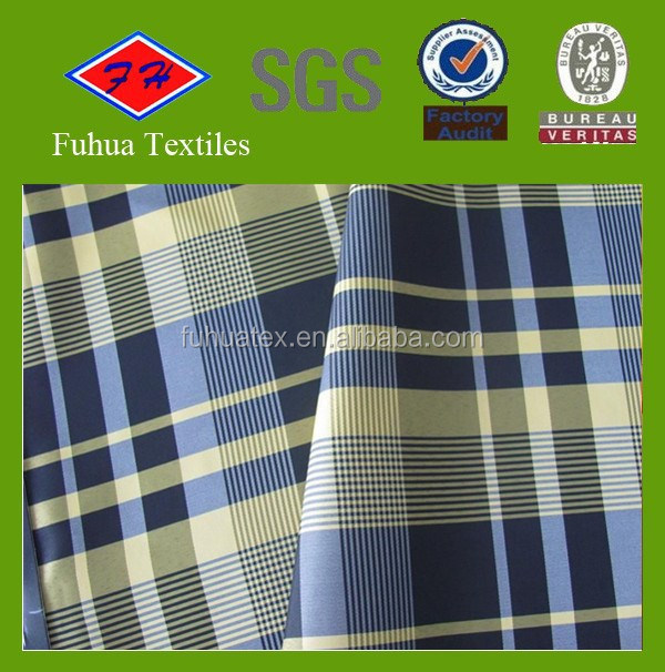 Yarn Dyed Cotton Checked Fabric for shirt
