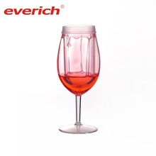 Shatterproof Plastic Stemless Sublimation Wine Glass