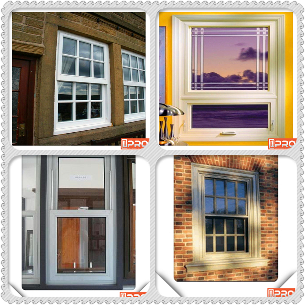 High quality double glazed aluminum window single and for Single window design