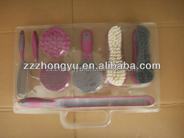promotional cleaning brush for horse