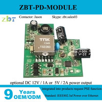 5v 12v poe pd module, switching power supply module