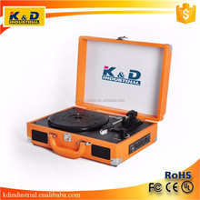 Portable Modern Vinyl Record Phonograph for Wholesale