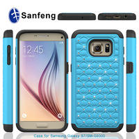 Fashion product 3 in 1 bybrid mobile phone case for samsung galaxy s7 / SM - G9300