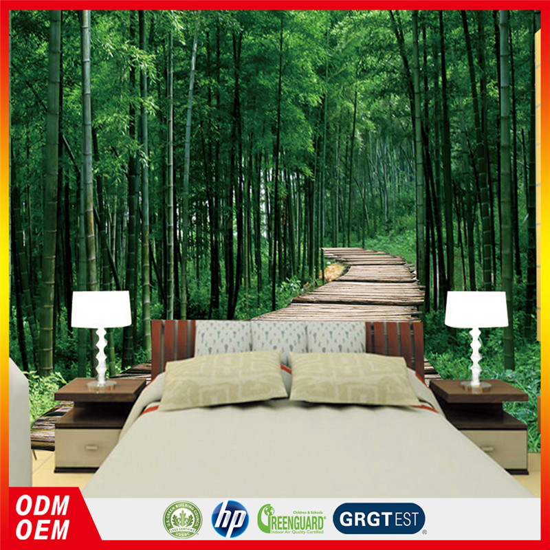 3d bamboo murals wallpaper nature green bamboo interior bamboo design wallpaper 3D
