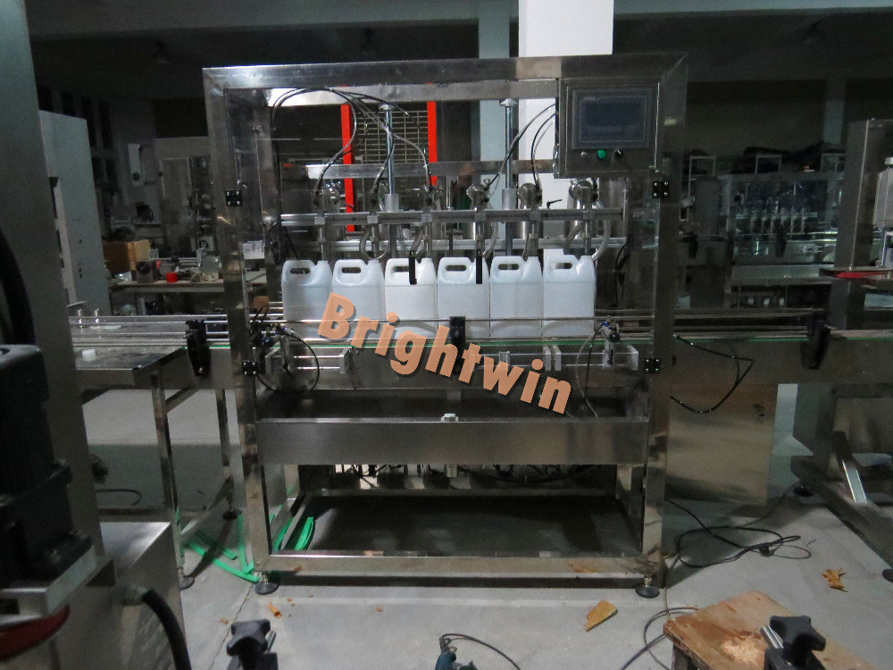 factory price automatic vegetable oil/corn oil filler machine