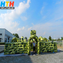 Commercial outdoor inflatable maze haunted for sale