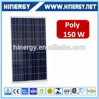 130w 135w 140w 160w 165w solar panel inmetro 150 w top quality 24v 150w solar panel stock