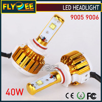 Super Bright Auto Light DC 12V 9004 9007 9005 9006 HB3 HB4 H7 H4 9012 40W 3600LM 4800LM Turbo V16 Crees LED Car Headlight bulb