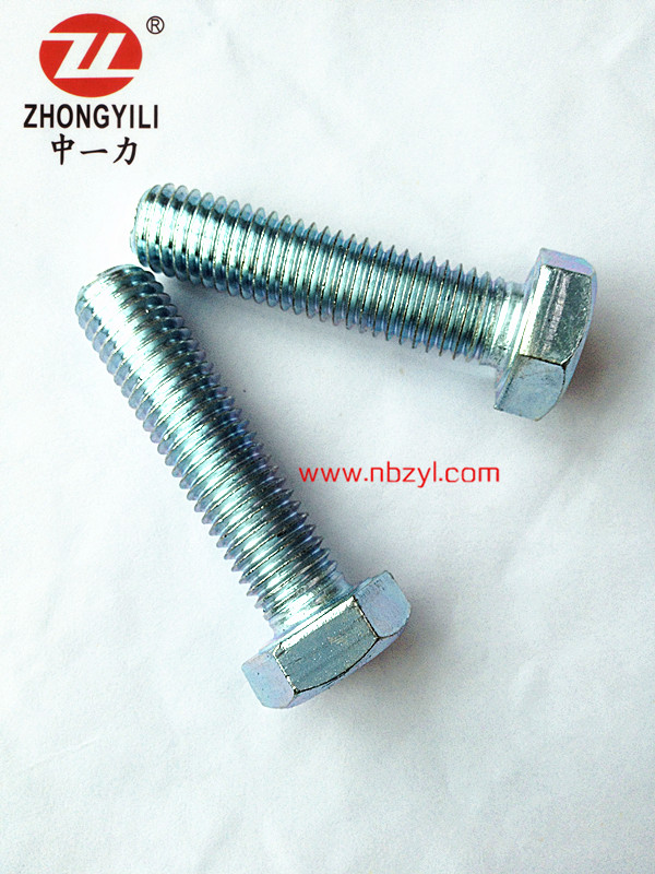 M16size length full thread 30-60mm bolt class 8.8