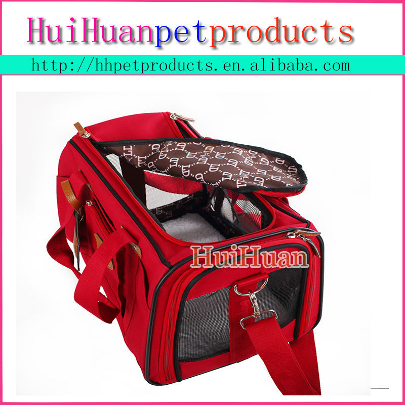 Custom Canvas Pet Carrier backpack dog carrier