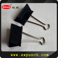 Professional producing high quality black binder clips