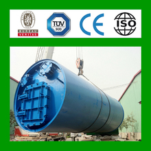 8 generation recycled tyre rubber plant with CE