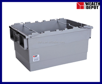 600*400*315mm Stack Nest Plastic Storage Bin with Bars